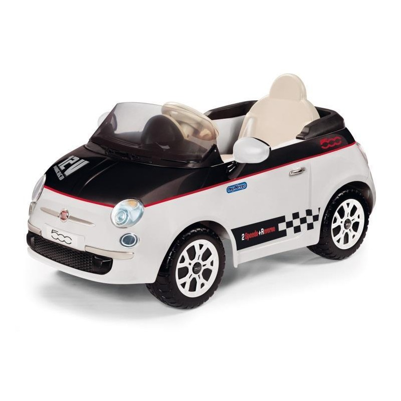 voiture pour enfant fiat 500 electrique. Black Bedroom Furniture Sets. Home Design Ideas