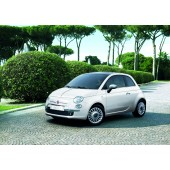 PROTECTION DE PARE CHOC AVANT FIAT 500 (CHROME)