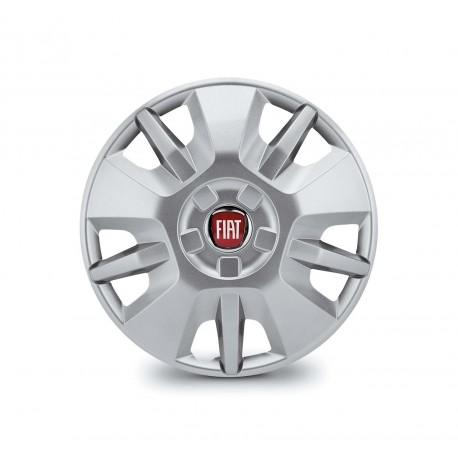 KIT DE 4 ENJOLIVEURS FIAT DUCATO 15""