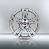 "KIT 4 JANTES ALLIAGE 17"" FIAT BRAVO (10 BRANCHES)"