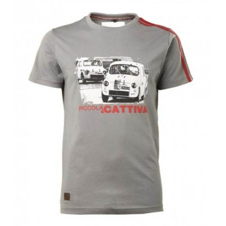 T-SHIRT HOMME HERITAGE ABARTH (L COL ROND)