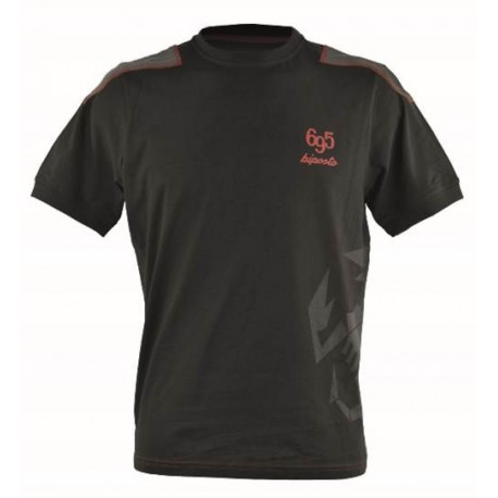 T-SHIRT HOMME SCORPION ABARTH 695 BIPOSTO (L)