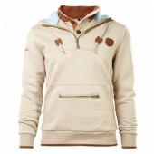 SWEAT HOMME A CAPUCHE HERITAGE ABARTH BEIGE (M)