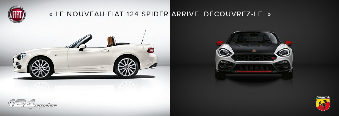 Accessoires Fiat Spider 124 finition Abarth
