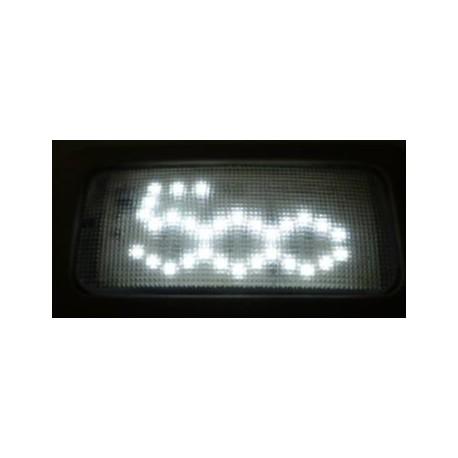 ECLAIRAGE LED PLAFONNIER LOGO FIAT 500