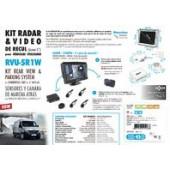 Kit radar & vidéo de recul avec écran LCD 5''