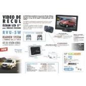 Kit vidéo de recul avec écran LCD 5''
