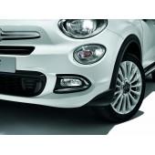 ENTOURAGES ANTIBROUILLARD AVANT FIAT 500X (CHROME)
