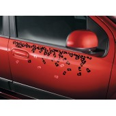"STICKERS FIAT PANDA ""LETTRES"""