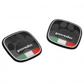 BADGE FIAT PANDA DRAPEAU ITALIEN